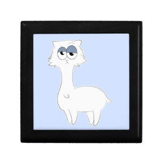 Grumpy Persian Cat Llama Gift Box