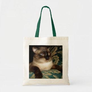 Grumpy Siamese Cat Bag