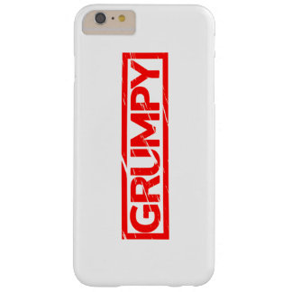 Grumpy Stamp Barely There iPhone 6 Plus Case