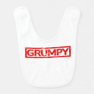 Grumpy Stamp Bib