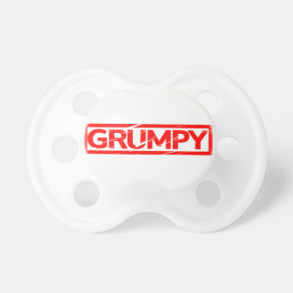 Grumpy Stamp Pacifier