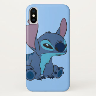 Grumpy Stitch iPhone X Case
