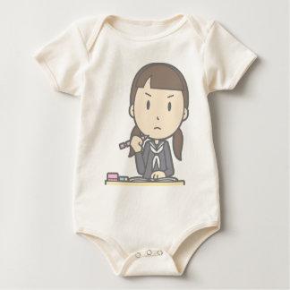 Grumpy Student Baby Bodysuit