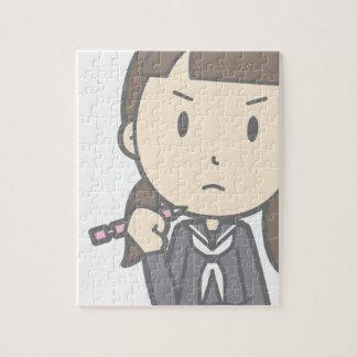 Grumpy Student Jigsaw Puzzle