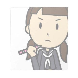 Grumpy Student Notepad