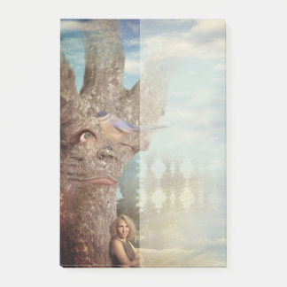 Grumpy Tree Post-it Notes