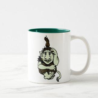 Grumpy Troll Mug