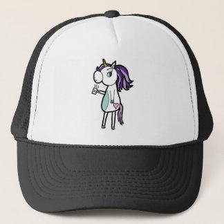 Grumpy Unicorn Trucker Hat