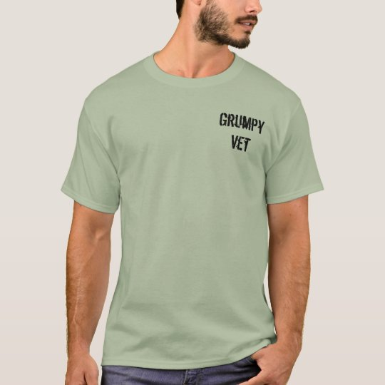 """Grumpy Vets """"GIVE IT A REST!"""" Tee"""