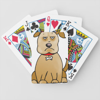 grumpydog bicycle playing cards