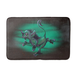 GRUNCH ALIEN CARTOON Medium  Bath Mat