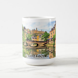 GRUND BRIDGE LUXEMBOURG COFFEE MUG