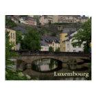Grund, Luxembourg Postcard