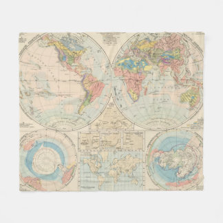 Grund u Boden - Soil Atlas Map Fleece Blanket