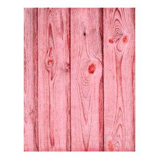 grundgy worn wood background letterhead