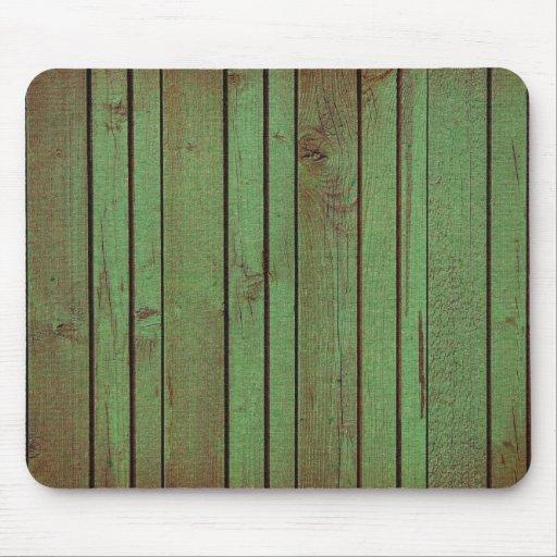 grundgy worn wood background mouse pad