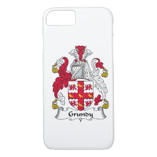 Grundy Family Crest iPhone 8/7 Case