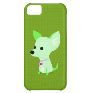 Grüne Chihuahua Cover For iPhone 5C