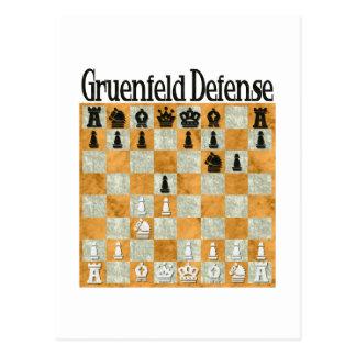 Grünfeld Defense Postcard