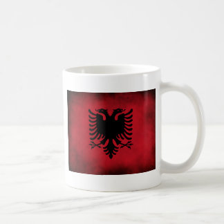 Grunge Albanian Flag [High Quality] Coffee Mug