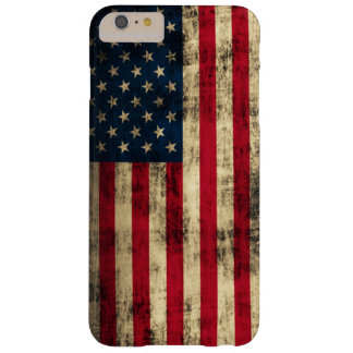 Grunge American Flag Barely There iPhone 6 Plus Case