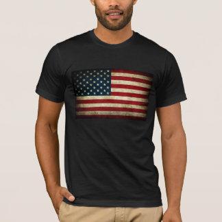 Grunge american flag T-Shirt