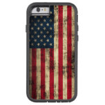 Grunge American Flag Tough Xtreme iPhone 6 Case