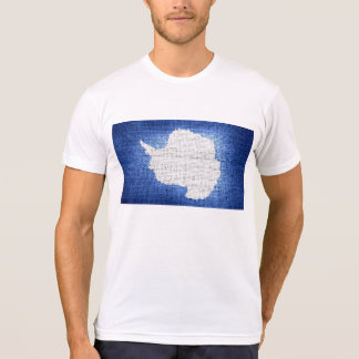 Grunge Antarctica flag T-Shirt