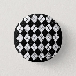 grunge argyle button