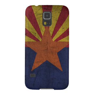 Grunge Arizona Flag Galaxy S5 Covers
