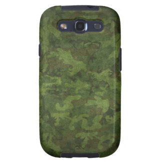 Grunge Army Green Military Camouflage Galaxy S3 Covers