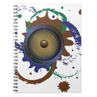 Grunge Audio Speaker 3 Notebook
