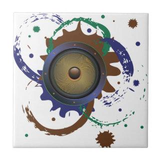 Grunge Audio Speaker 3 Tile