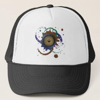 Grunge Audio Speaker 3 Trucker Hat