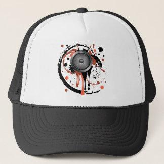 Grunge Audio Speaker Trucker Hat