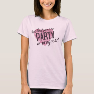 Grunge Bachelorette Party  Ladies Long Sleeve T-Shirt