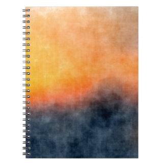 Grunge background notebook