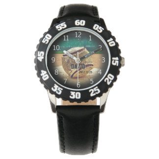 Grunge Baseball Ball | Cool Sport Gifts Watch
