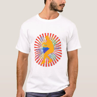 Grunge Baseball Player Singlet T-Shirt