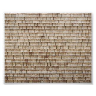 grunge beige wood wall texture photo print