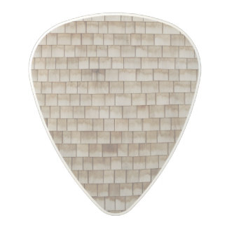 grunge beige wood wall texture polycarbonate guitar pick