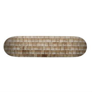 grunge beige wood wall texture skate board deck