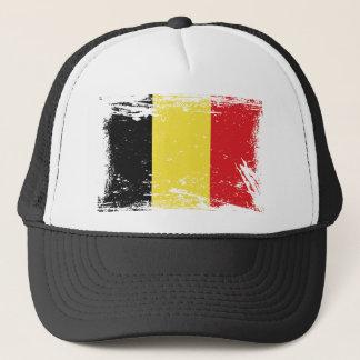 Grunge Belgium Flag Trucker Hat
