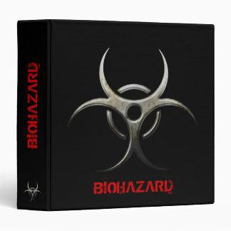 Grunge Biohazard organizer - 1 5 Binder