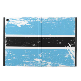 Grunge Botswana Flag iPad Air Cover