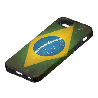 Grunge Brazil Flag iPhone 5 Case