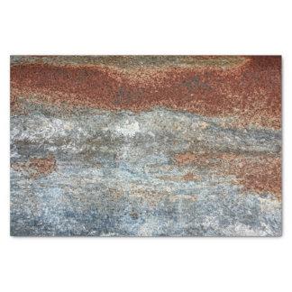 Grunge Brown Rust Texture Pattern Tissue Paper