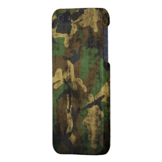 Grunge Camouflage Pattern iPhone 5/5S Case
