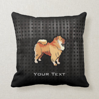 Grunge Chow Chow Throw Pillow