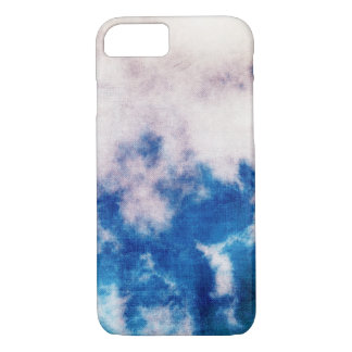 Grunge clouds texture iphone 7 case